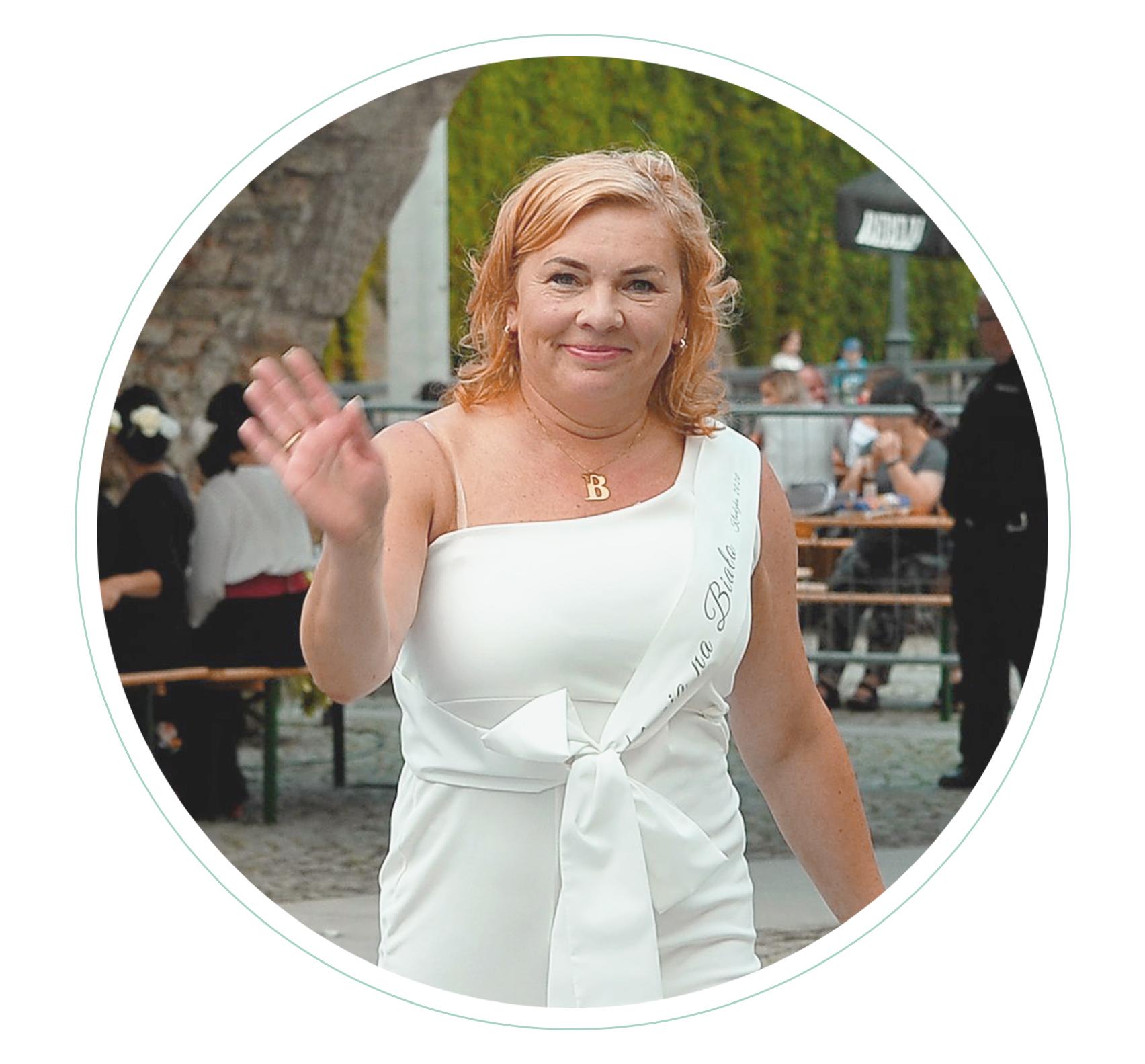 Beata Marcinkiewicz Kolacja na Biało Kłodzko